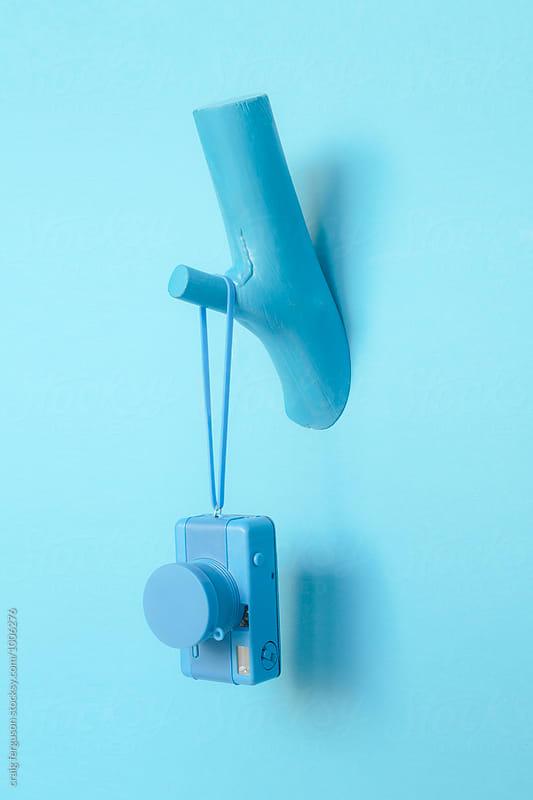 Hanging camera by craig ferguson for Stocksy United