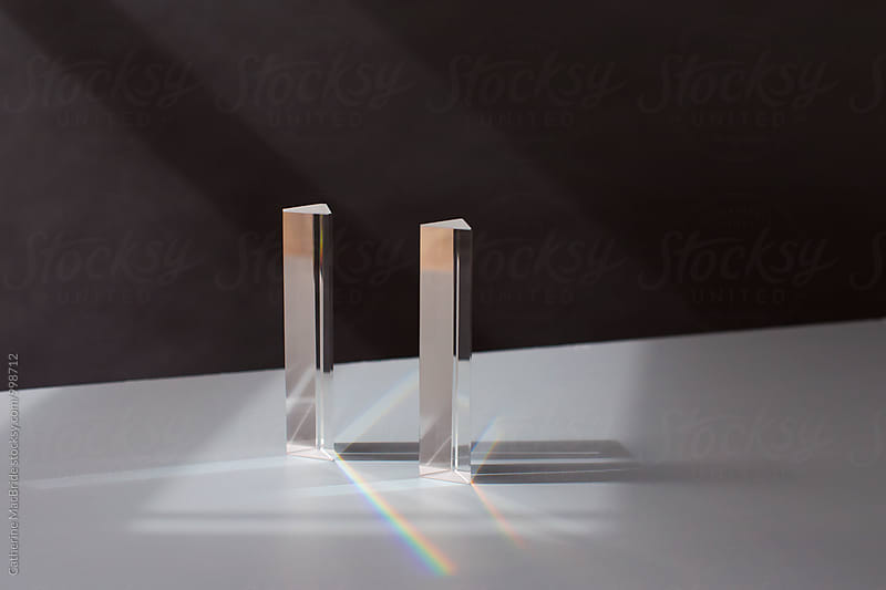 Prisms and rainbow... by Catherine MacBride for Stocksy United