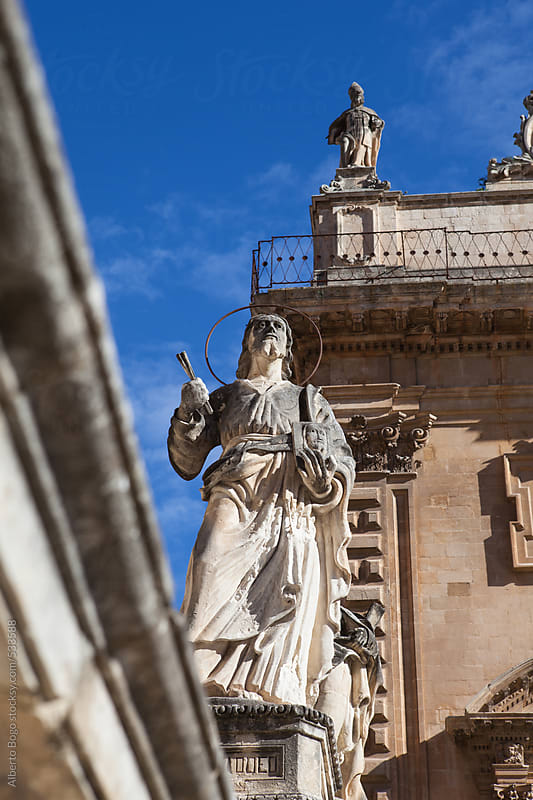 San Francesco in Noto, Sicily by Alberto Bogo for Stocksy United