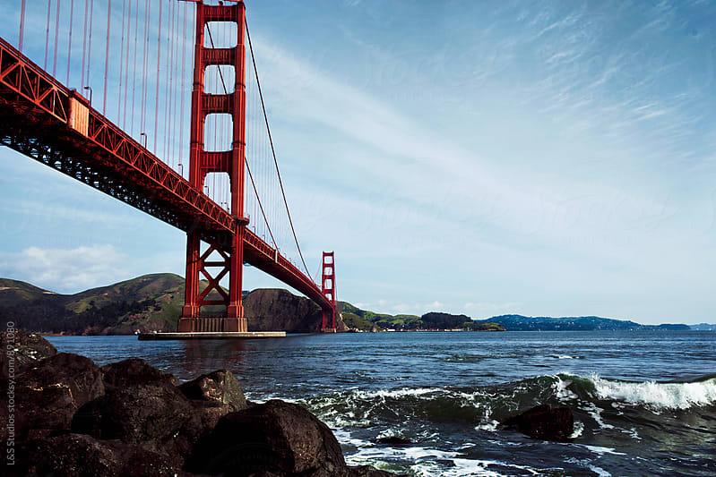 Golden Gate Bridge by L&S Studios for Stocksy United