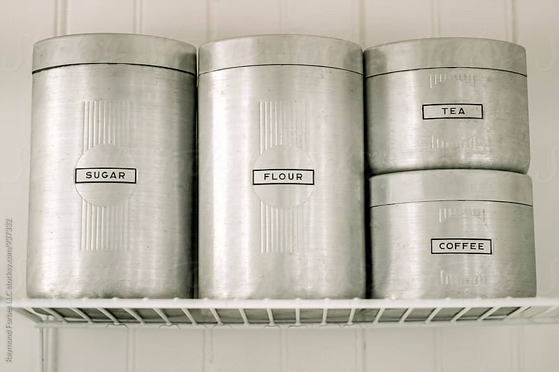 Vintage Kitchen Containers by Raymond Forbes LLC for Stocksy United