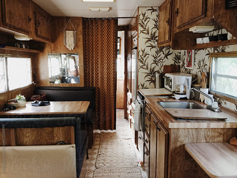 Vintage RV trailer by Carey Shaw for Stocksy United