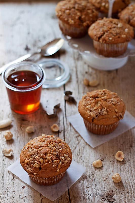 Baklava muffins by Federica Di Marcello for Stocksy United