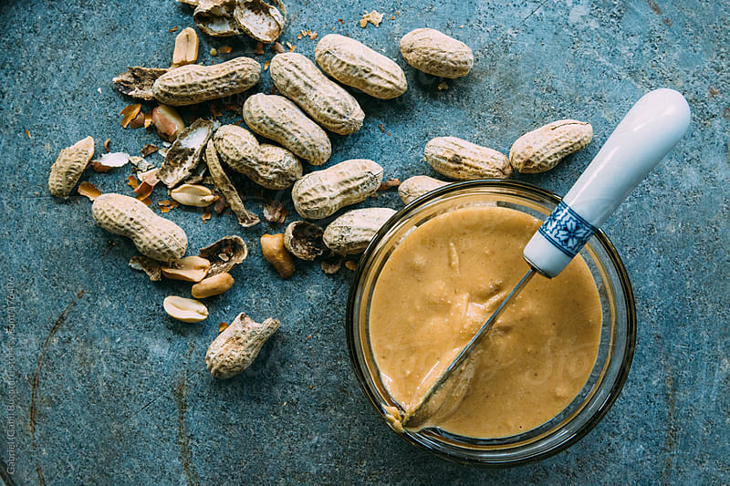 Freshly Ground Peanut Butter by Gabriel (Gabi) Bucataru for Stocksy United
