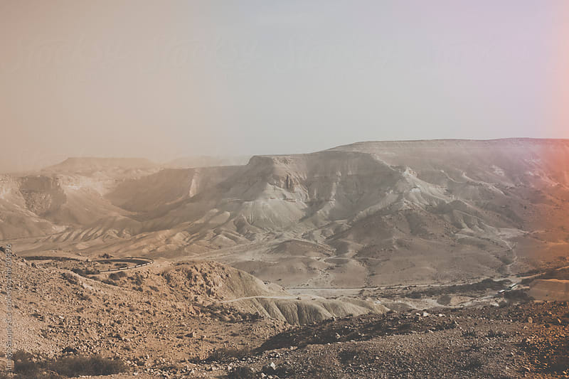 Mountains in the Negev Dessert, Israel. by Image Supply Co for Stocksy United