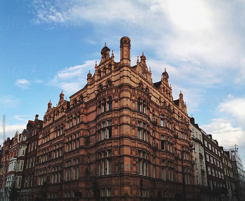Beautiful Brick Building by Maximilian Guy McNair MacEwan for Stocksy United