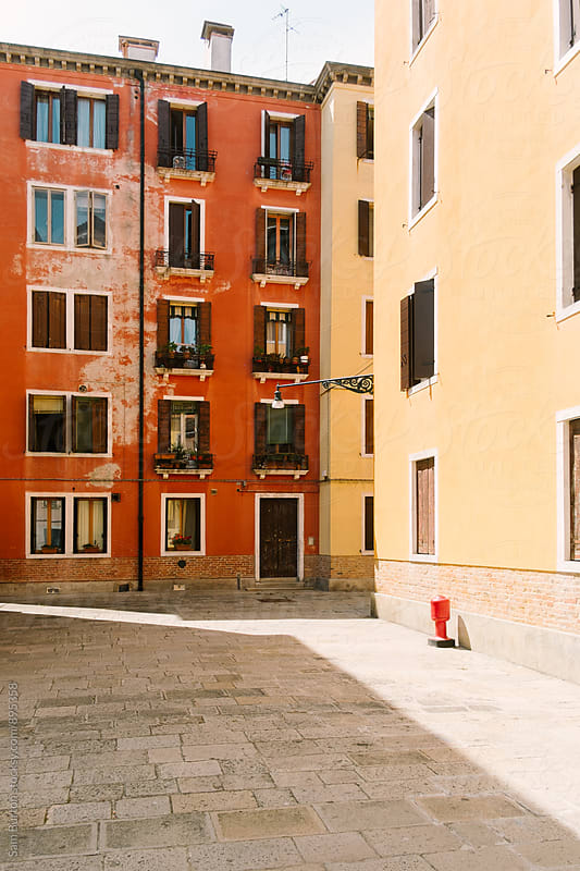 Buildings in Venice by Sam Burton for Stocksy United