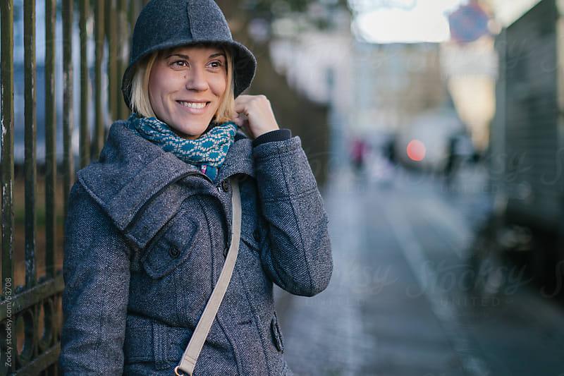 Woman in Copenhagen by Zocky for Stocksy United