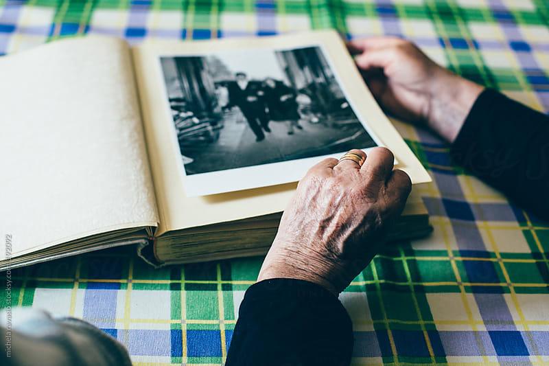Album of old photographs by michela ravasio for Stocksy United