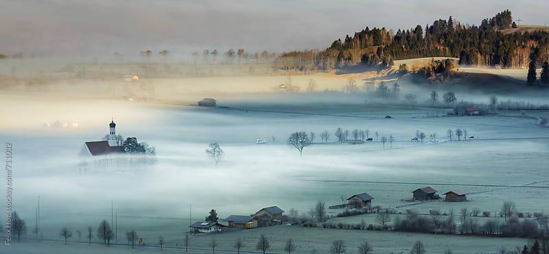 German Village in autumn by Felix Hug for Stocksy United