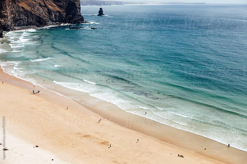 Arrifana Beach by Agencia for Stocksy United