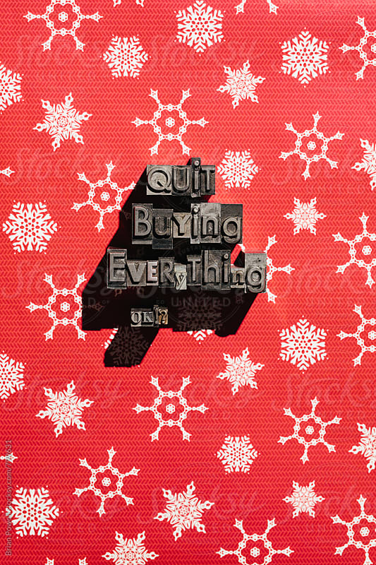 holiday consumerism by Brian Powell for Stocksy United