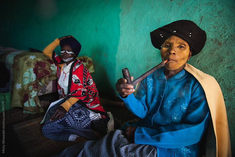 Rural African Xhosa Women by Micky Wiswedel for Stocksy United