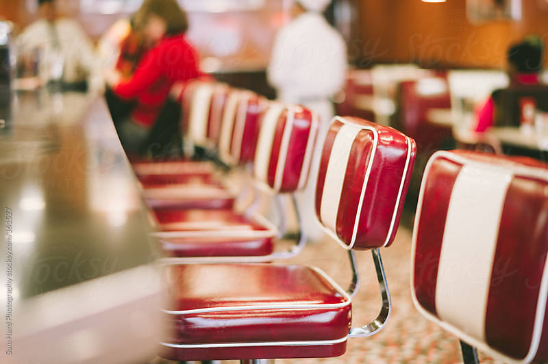 50's diner chair by Sam Hurd Photography for Stocksy United