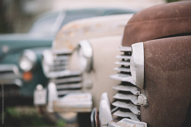 old cars. by Alexey Kuzma for Stocksy United