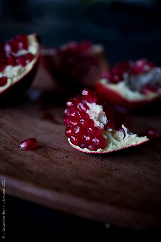 Pomegranate by Sophia van den Hoek for Stocksy United