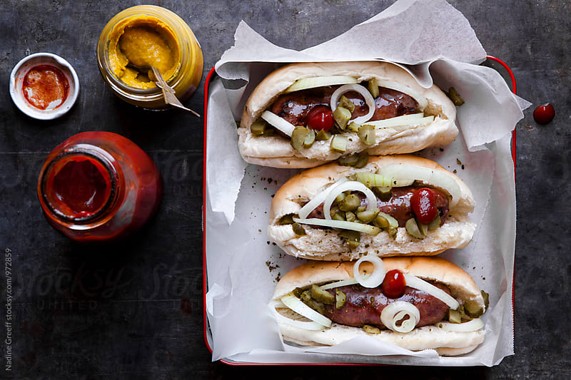 Hot dog by Nadine Greeff for Stocksy United