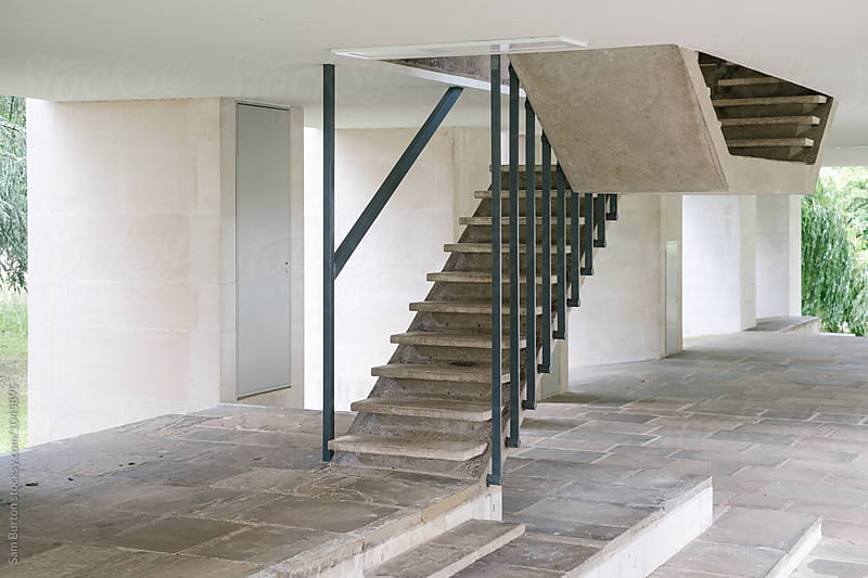 Concrete stairs by Sam Burton for Stocksy United