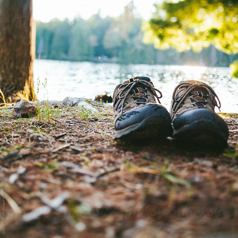 Hiking boots by Good Vibrations Images for Stocksy United
