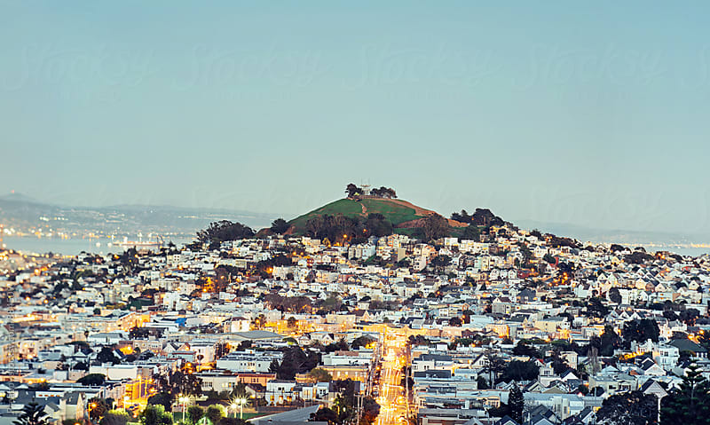 Bernal Heights, San Francisco by Preappy for Stocksy United