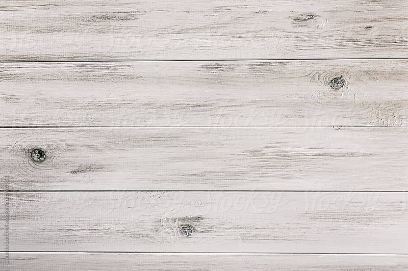 Rustic White Wooden Background by Claudia Lommel for Stocksy United