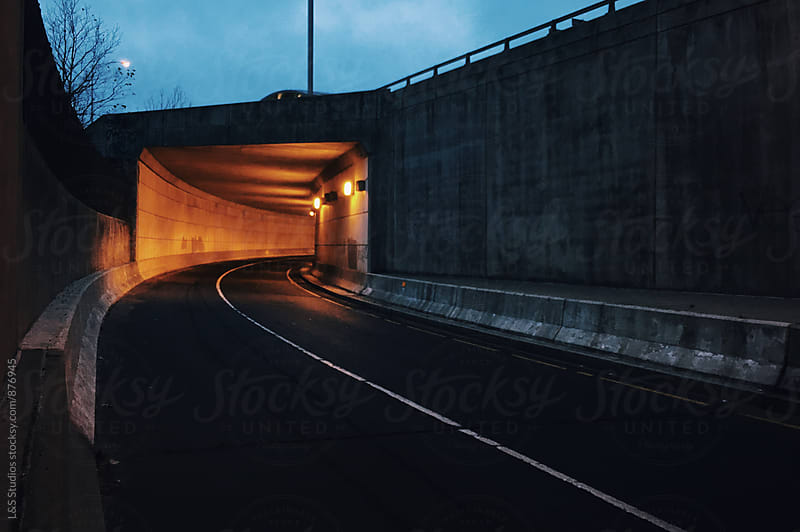 Glowing Tunnel by L&S Studios for Stocksy United