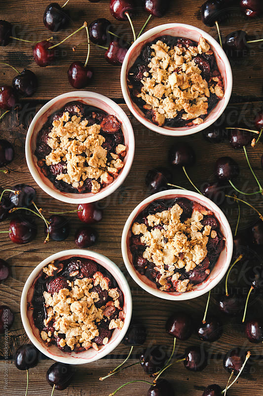 Cherry crumble by Pixel Stories for Stocksy United