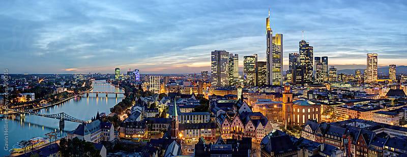 City skyline, Frankfurt-am-Main, Hessen, Germany, Europe  by Gavin Hellier for Stocksy United