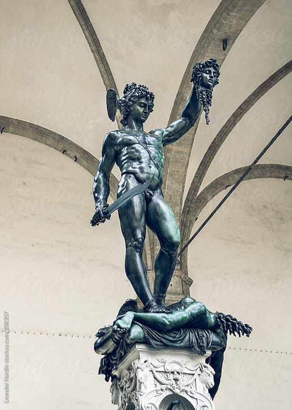 Statue of Perseus by Leander Nardin for Stocksy United