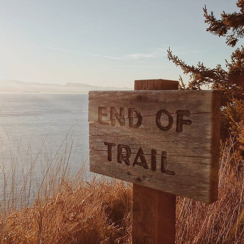End of Trail by Jesse Weinberg for Stocksy United