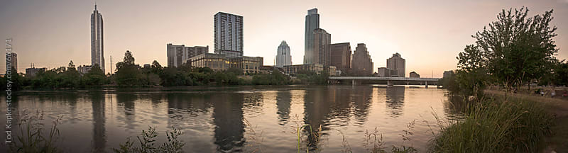 Austin skyline by Tod Kapke for Stocksy United