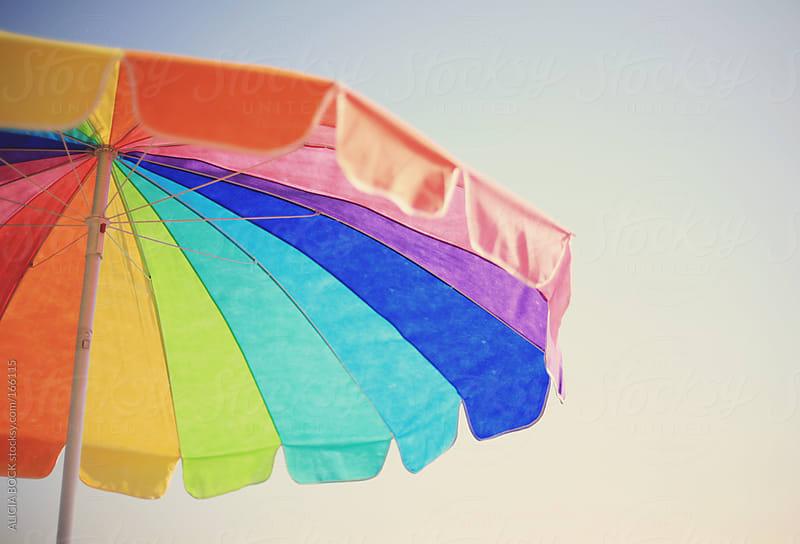 Beach Umbrella by ALICIA BOCK for Stocksy United