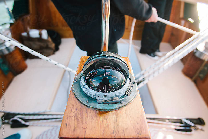 Compass on Sailboat by Raymond Forbes LLC for Stocksy United