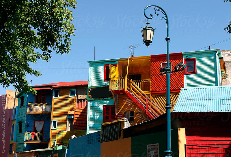 Caminito La Boca District Buenos Aires, Argentina by Raymond Forbes LLC for Stocksy United