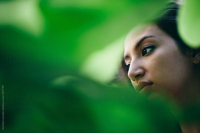 Woman in the nature by michela ravasio for Stocksy United
