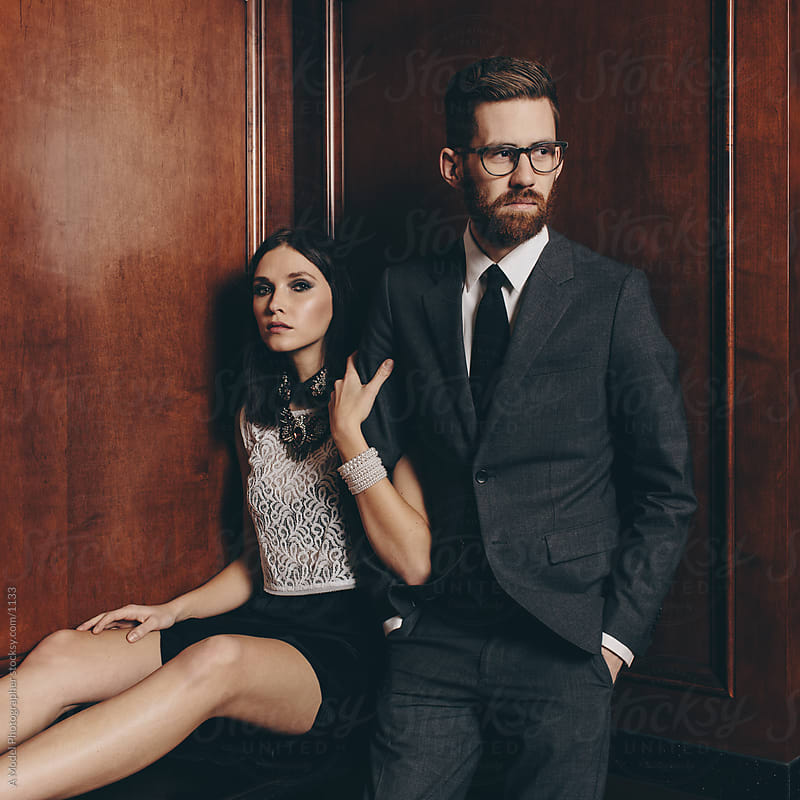 Formal couple by Ania Boniecka for Stocksy United