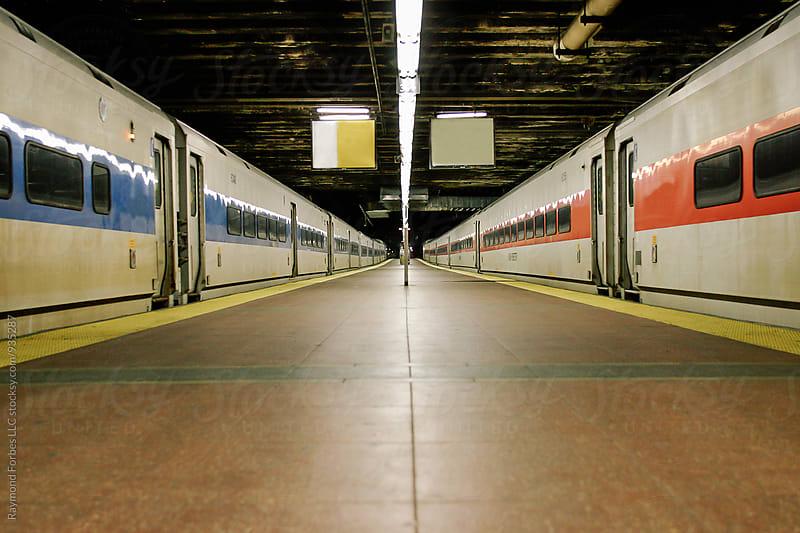 Grand Central Platform New York City by Raymond Forbes LLC for Stocksy United