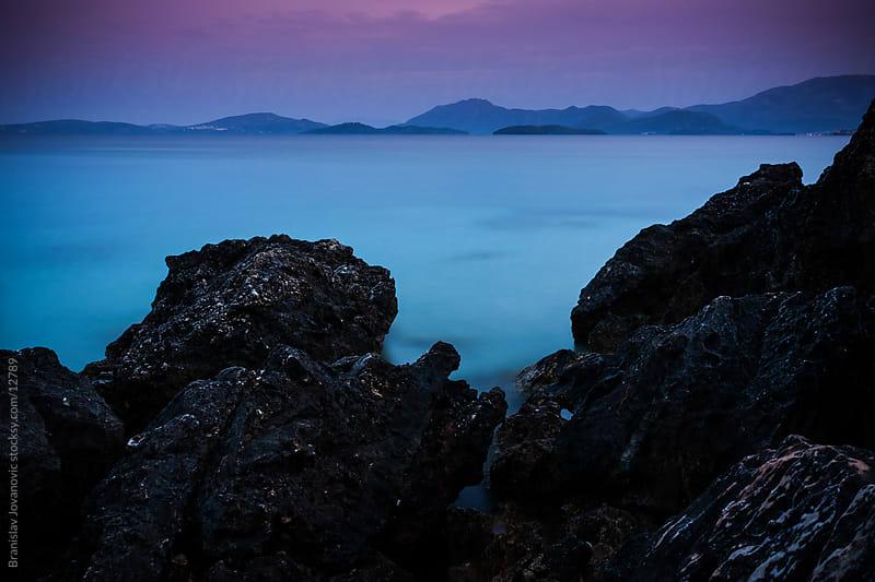 Rock Seascape by Branislav Jovanović for Stocksy United