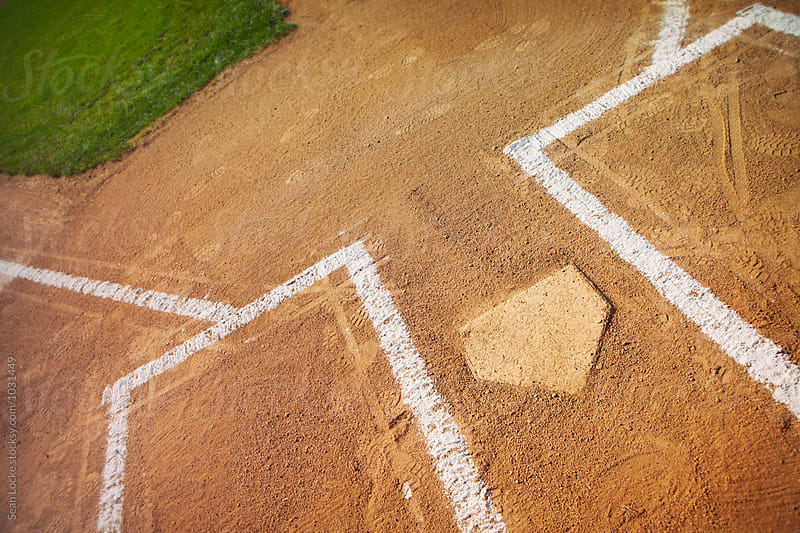 Baseball: Home Plate Area Waiting For Players by Sean Locke for Stocksy United