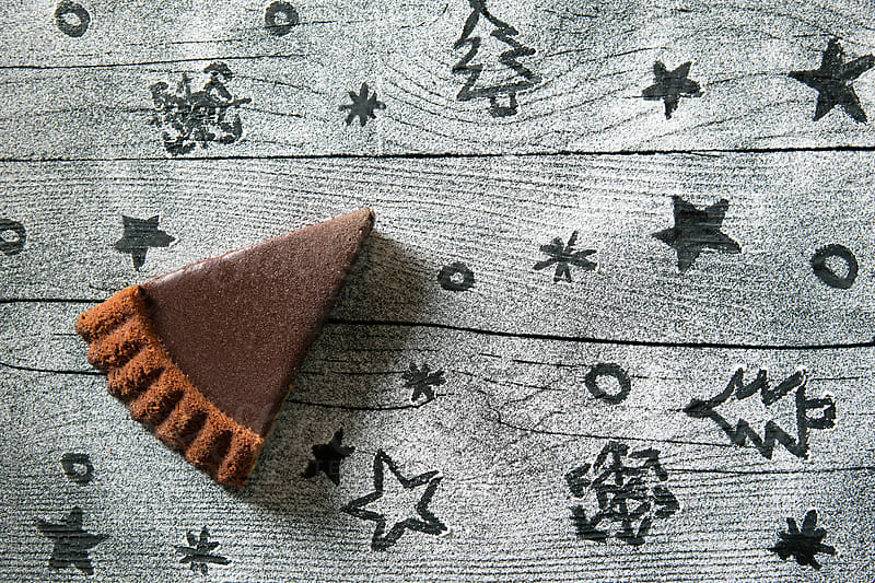 Christmas Chocolate Tart by Lumina for Stocksy United