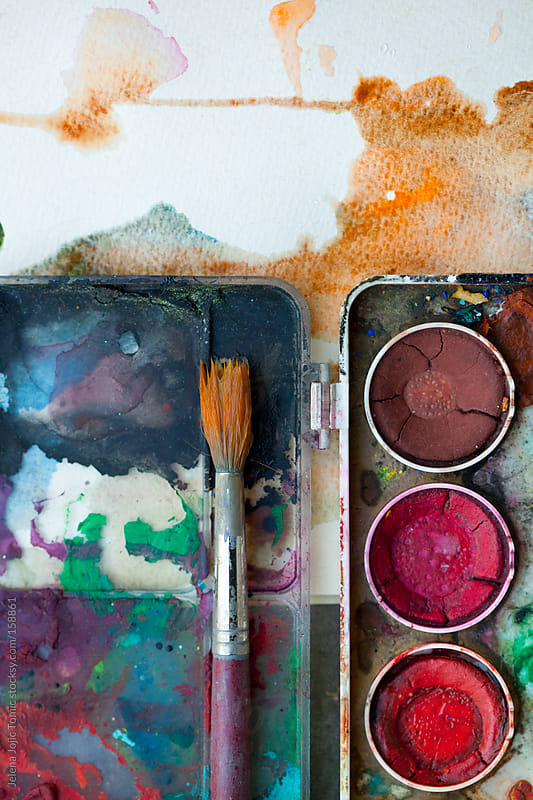 Watercolors by Jelena Jojic Tomic for Stocksy United