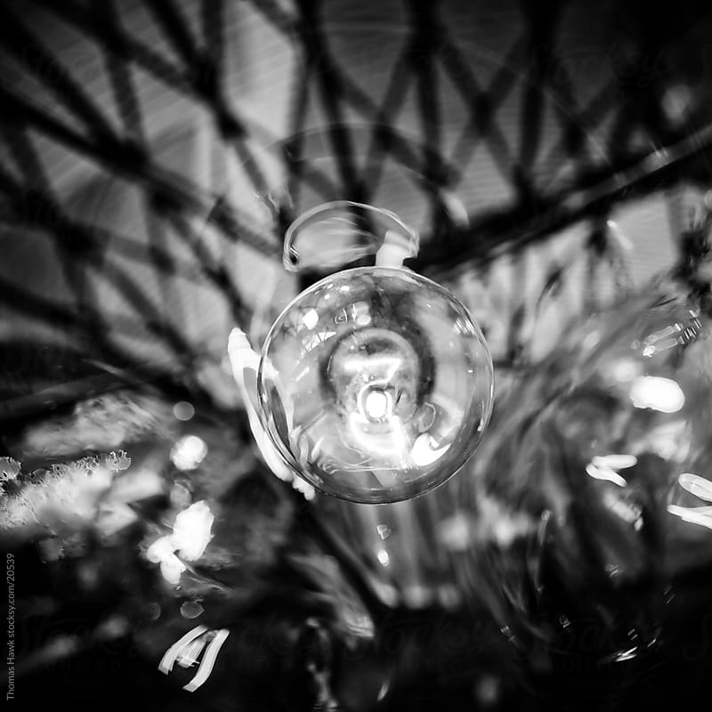 light bulb by Thomas Hawk for Stocksy United