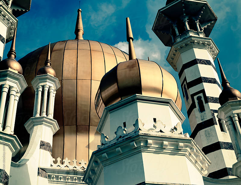Ubudiah Mosque in Kuala Kangsar by Hugh Sitton for Stocksy United
