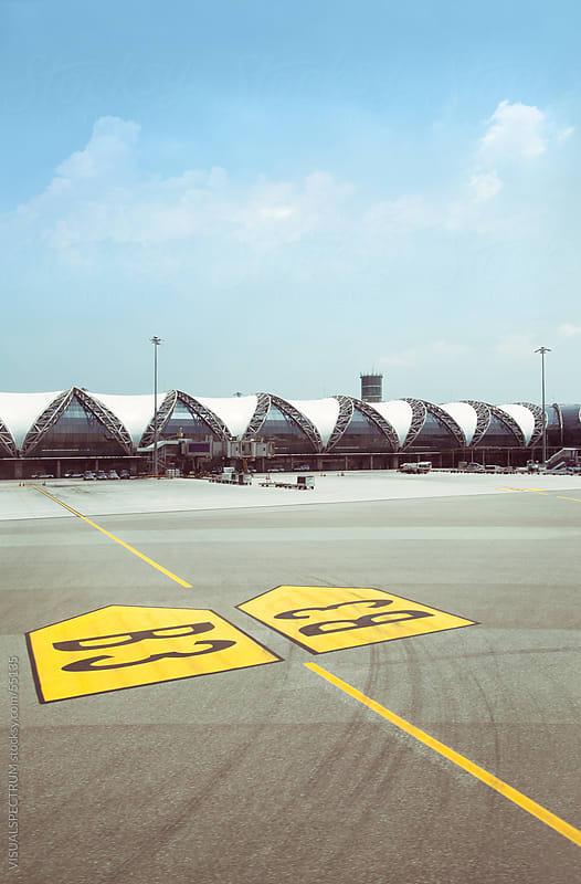 Bangkok Airport (Suvarnabhumi) by VISUALSPECTRUM for Stocksy United
