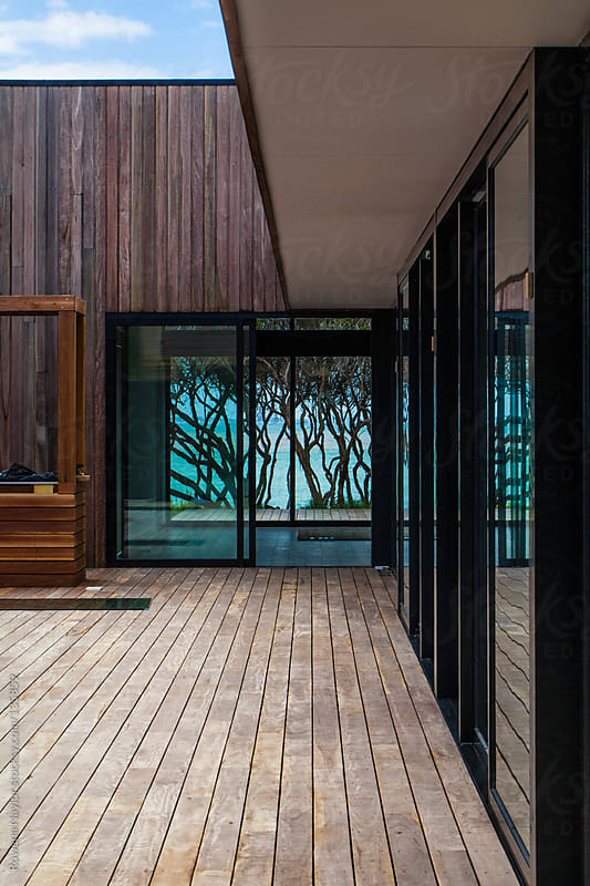 Contemporary Beach House by Rowena Naylor for Stocksy United
