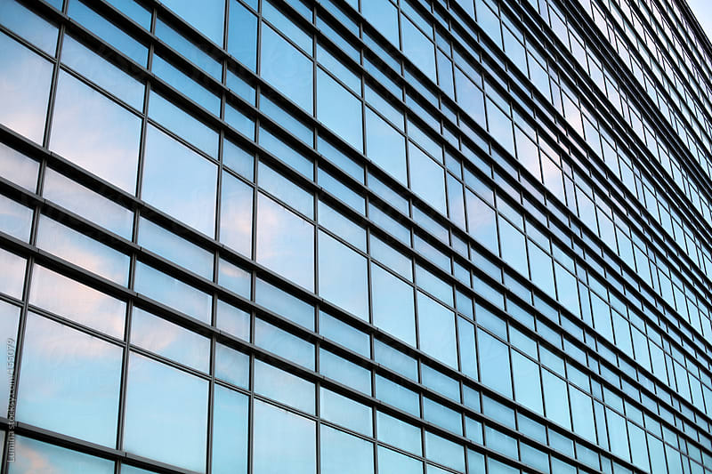 Glass Corporate Building by Lumina for Stocksy United