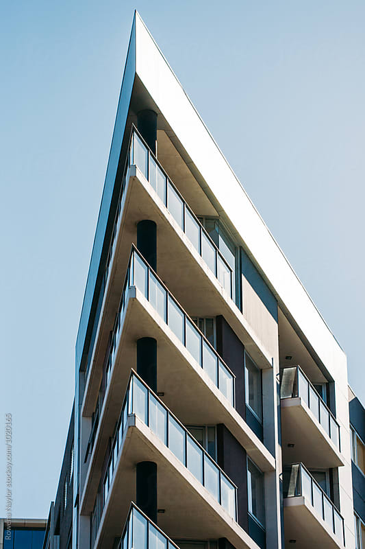 Contemporary Apartment Building in Melbourne by Rowena Naylor for Stocksy United