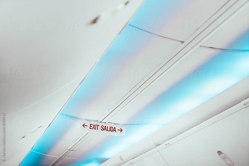 Airplane Ceiling by B. Harvey for Stocksy United