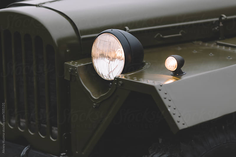 vintage soviet jeep by Alexey Kuzma for Stocksy United