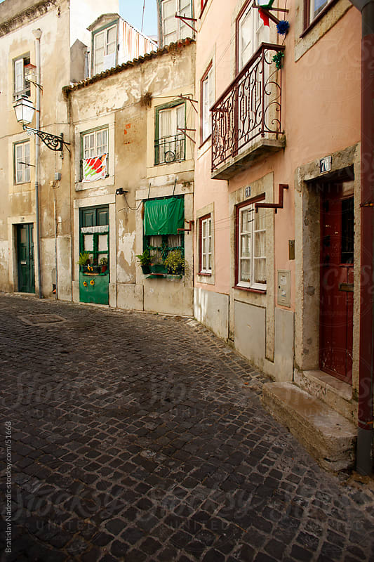 Old street in Roma by Bratislav Nadezdic for Stocksy United